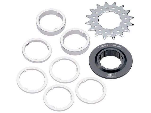 Bike-Parts Single Speed Ritzel Distanzring-Set